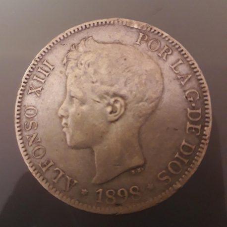 5 ptas 1898 MBC