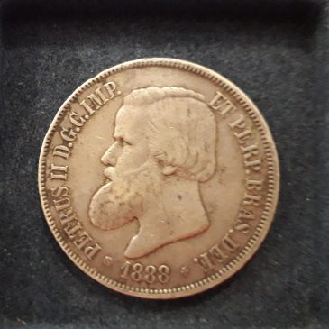 BRASIL 2000 REIS 1888 BC