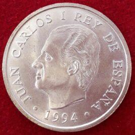 2000 Pesetas de plata Juan Carlos I 1994 EBC