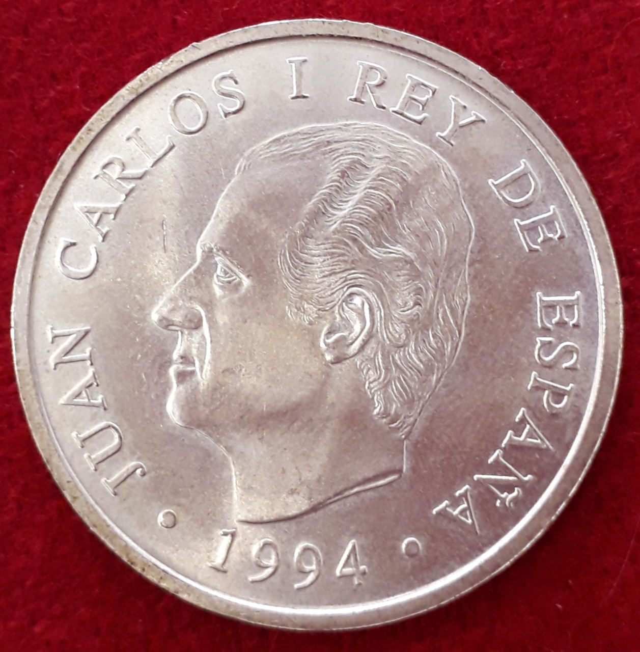 2000 Pesetas De Plata Juan Carlos I 1994 Ebc Numismática Felipe Vi