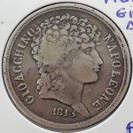 2Lira de plata Joachim Murat (Gio Acchino) 1813 BC