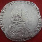 Ducaton de plata de Felipe IV 1657- calidad MBC+