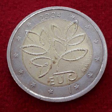 2 Euros Conmemorativos Filandia 2004 calidad MBC