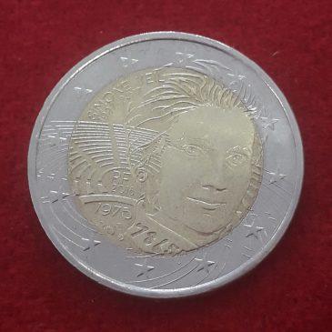 2 Euros Conmemorativos Simon Veil 2018 calidad s/c Francia