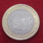 1 Euro Monaco 2001 Rainiero III calidad MBC