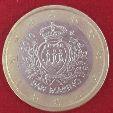 1 Euro San Marino 2010 calidad MBC