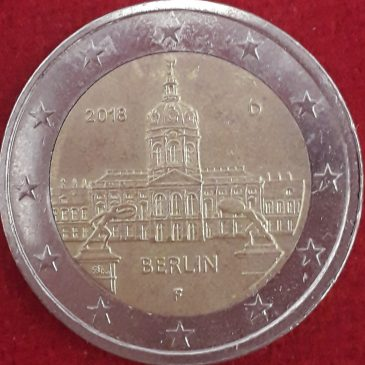 2 Euros Berlin 2018 calidad MBC