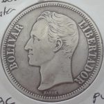 5 Bolivares plata Venezuela 1935 calidad EBC