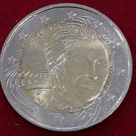 Francia 2018 2 euros conmemorativos ( Simone Veil).- S/C