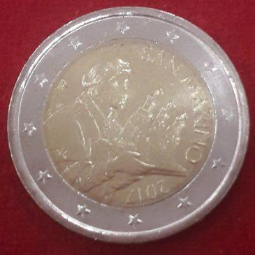 San Marino 2 Euros Nuevo diseño 2017 S/C