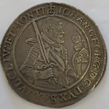 Alemania – Sajonia – Johann Georg I 1615-1656, Thaler 1624