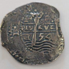 MONEDA DE 4 REALES FELIPE IV BOLIVIA 1654 PLATA (RARA)